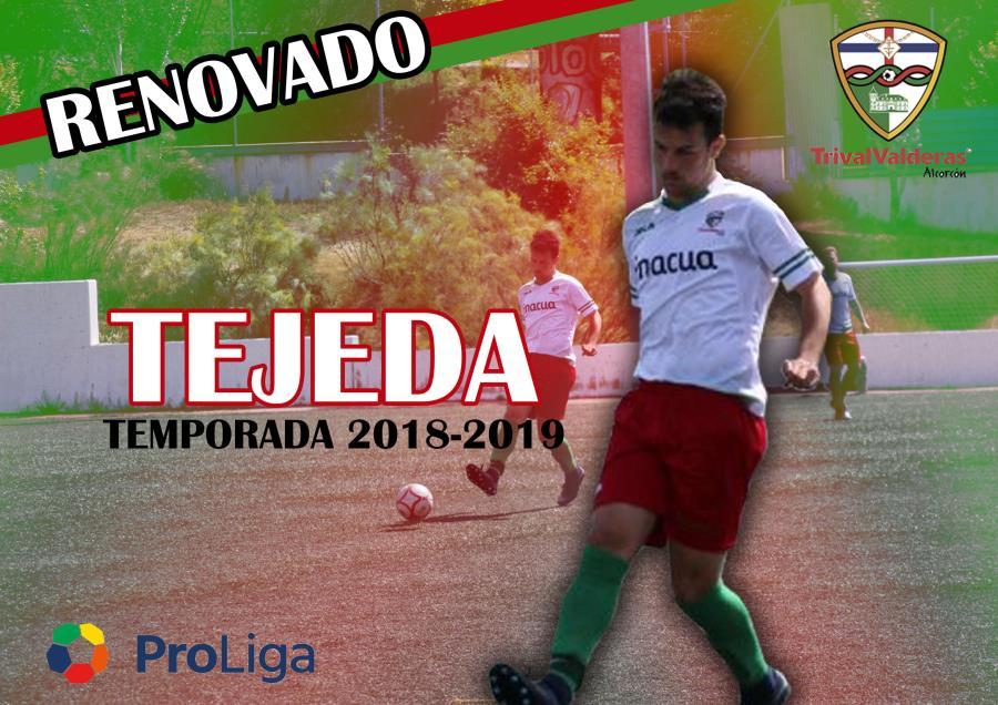 OFICIAL/ Renovación Sergio Tejeda Aficionado «B» temporada 2018/2019