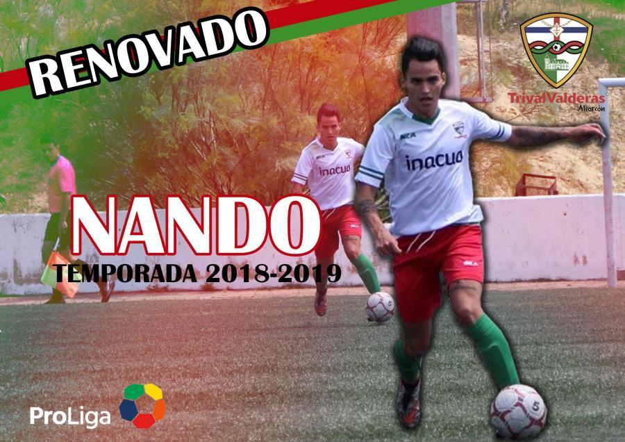 OFICIAL/ Renovación Fernando Morgado Aficionado «B» temporada 2018/2019
