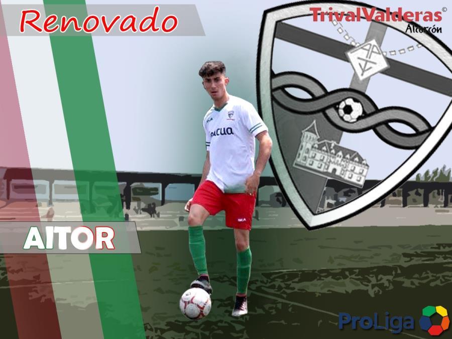 OFICIAL/ Renovación Aitor Alonso Aficionado «B» temporada 2018/2019