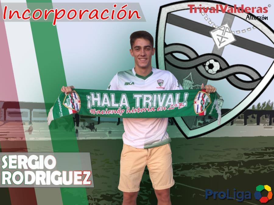 OFICIAL/ Incorporación Sergio Rodríguez Aficionado «B» temporada 2018/2019