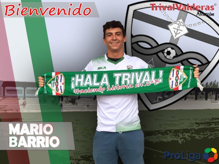 """OFICIAL/ Fichaje Mario Barrio Aficionado """"B"""" temporada 2018/2019"""