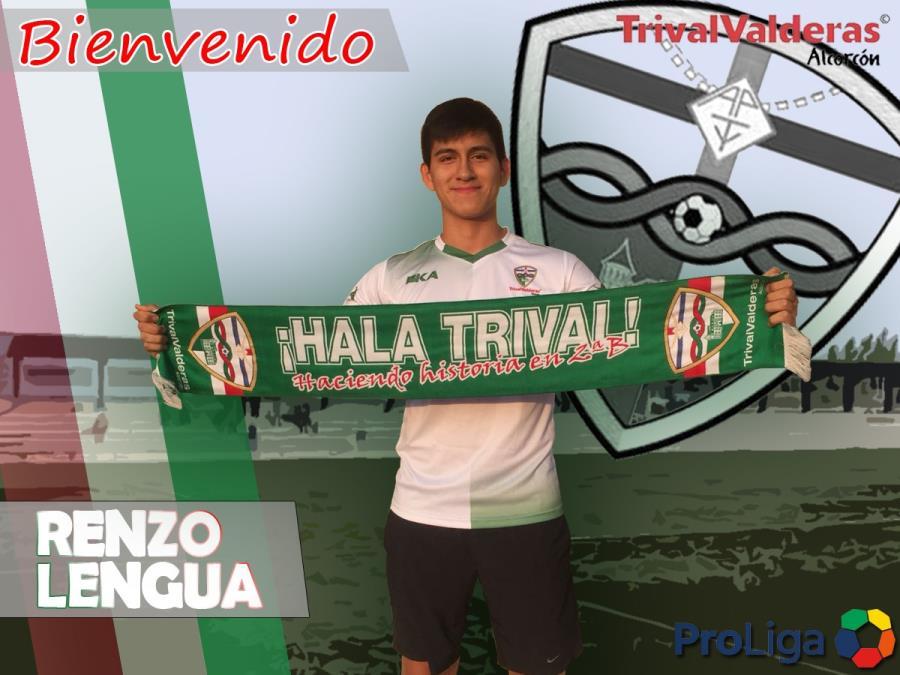 OFICIAL/ Fichaje Renzo Lengua Aficionado «B» temporada 2018/2019