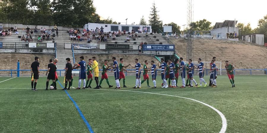 PREFERENTE/ El Aficionado «B» consigue el empate frente al Móstoles Balompié en su primer partido de Liga