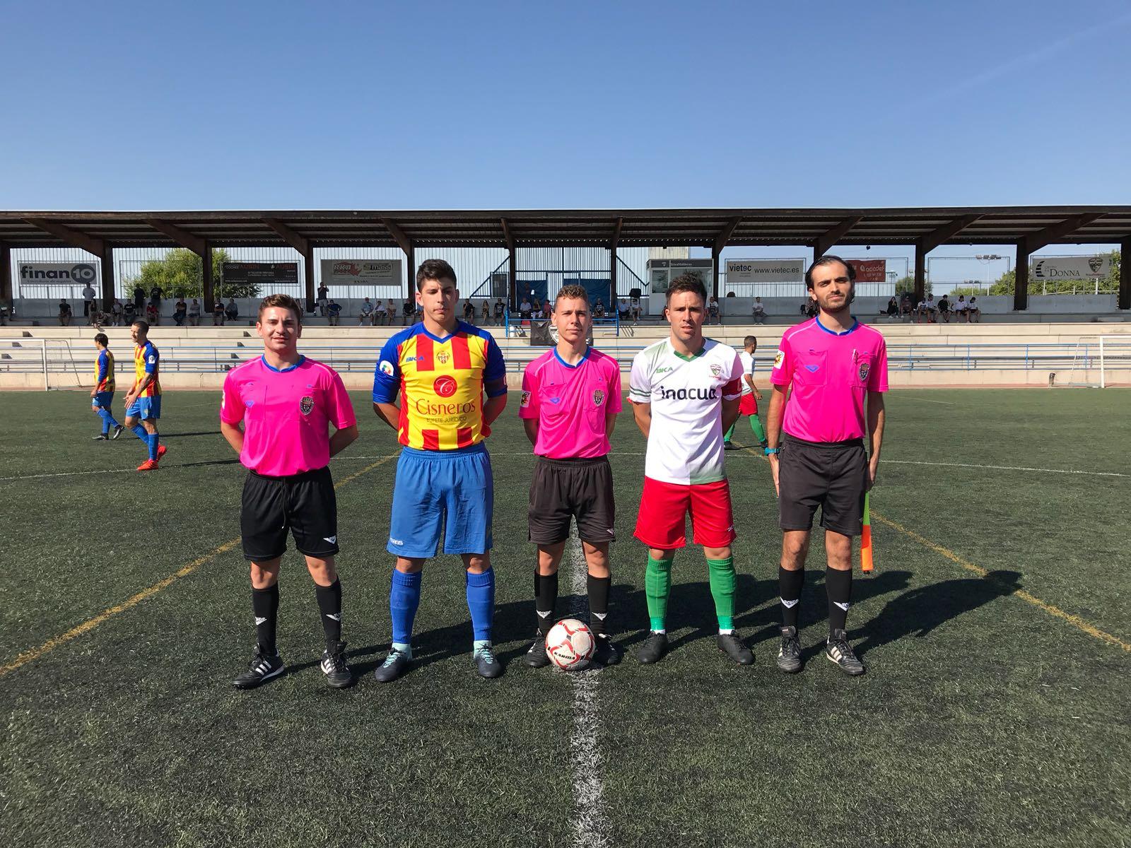 PREFERENTE/Nuevo empate para nuestro equipo Aficionado frente a C.D. Yébenes-San Bruno