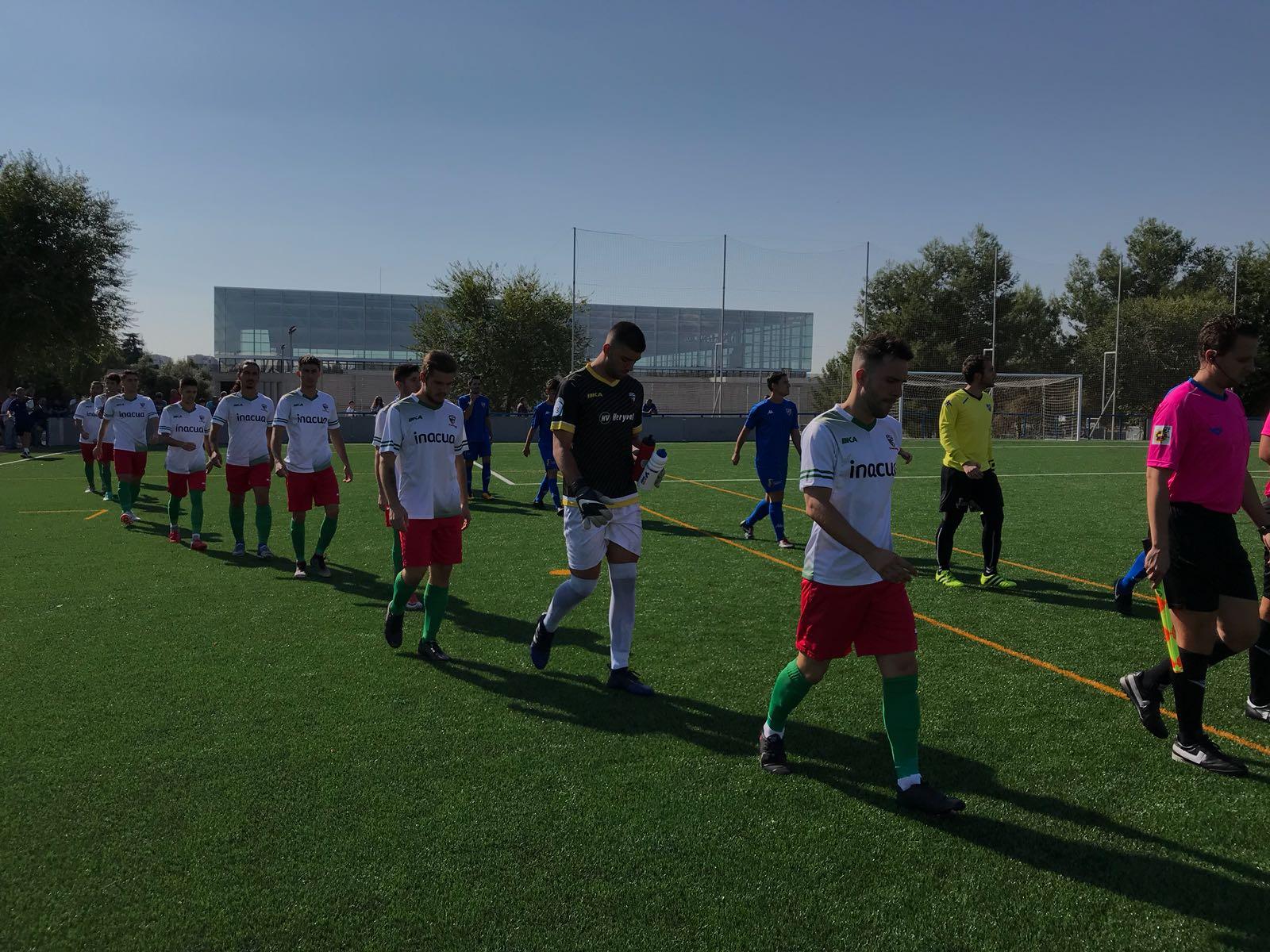 PREFERENTE/ El equipo trivalero no pudo conseguir los tres puntos de la jornada frente al Móstoles C.F.