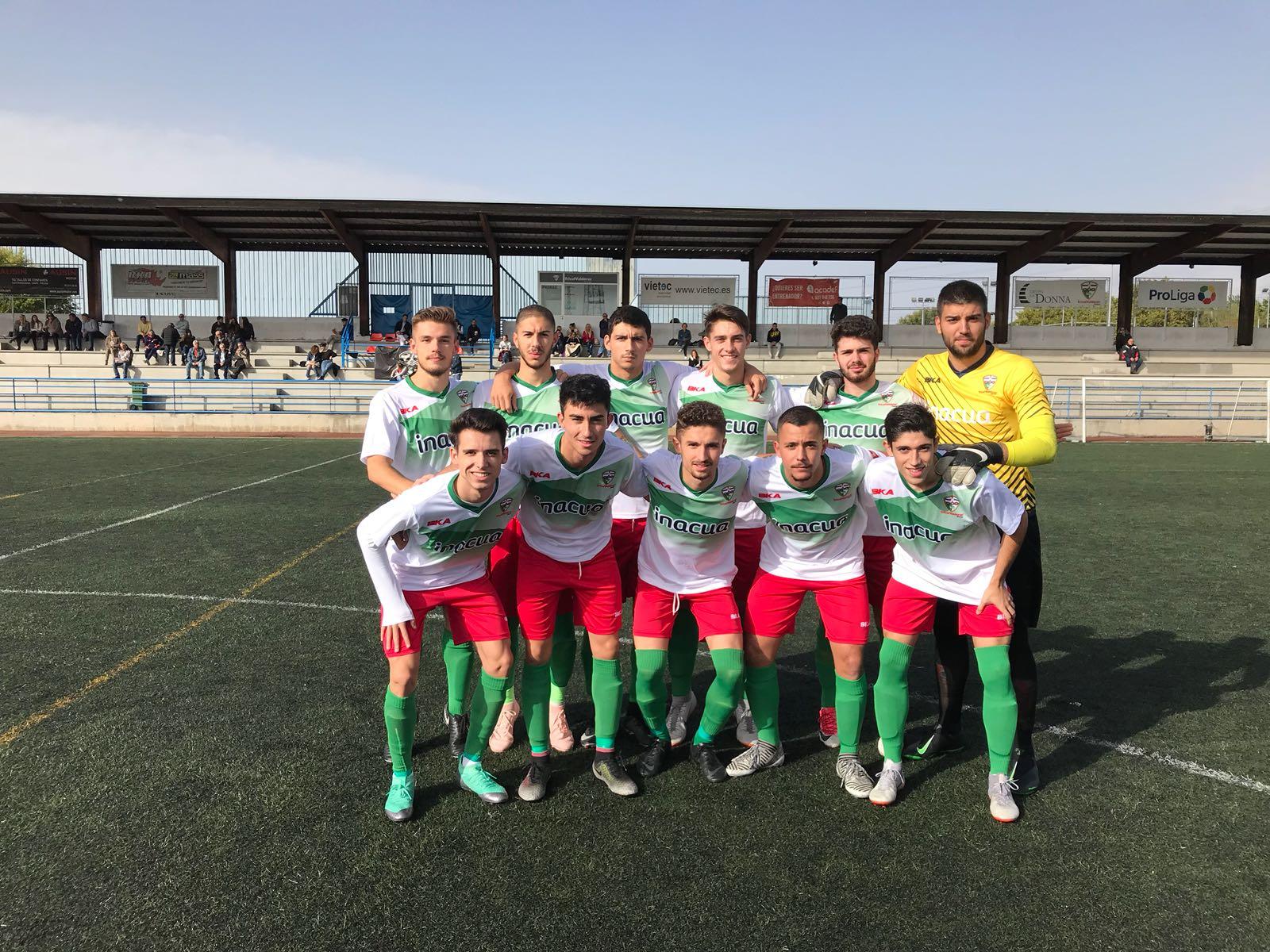 """PREFERENTE/ Derrota del equipo Aficionado frente al C.D. Lugo Fuenlabrada """"A"""""""