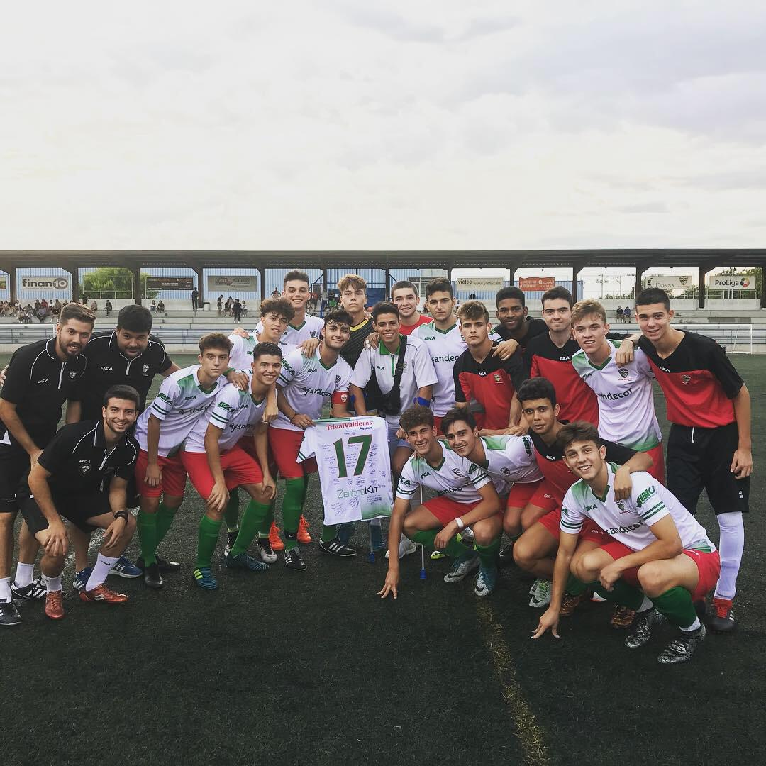 """CRÓNICA/ No fue posible la victoria del Juvenil """"B"""" contra A.D. Torrejón C.F. """"A"""""""