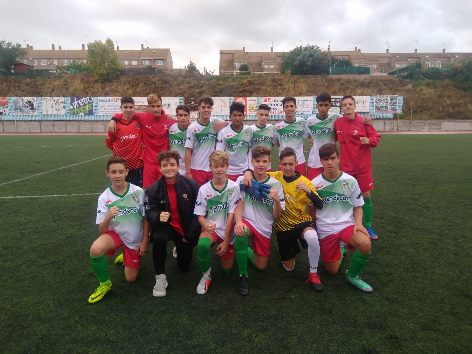 CRÓNICA/ Victoria del Cadete «C» frente al E.F. Estudiantes Alcorcón «A»