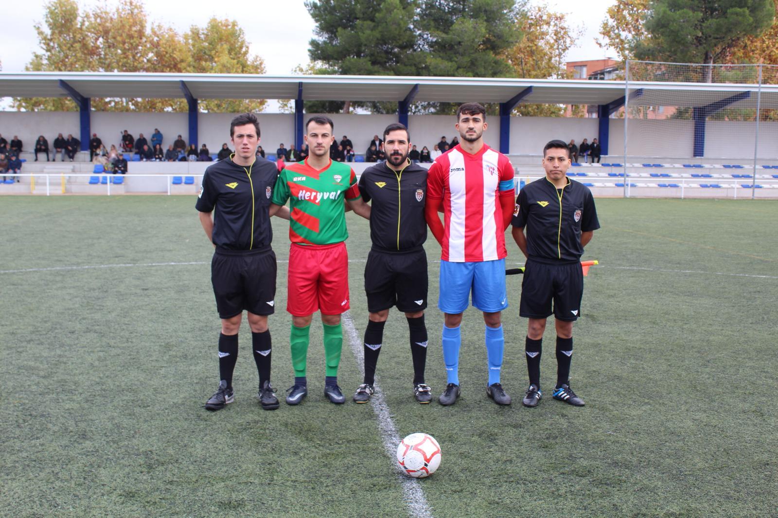 PREFERENTE/ Empate del equipo Aficionado frente al C.D. Colonia Moscardó (1-1)