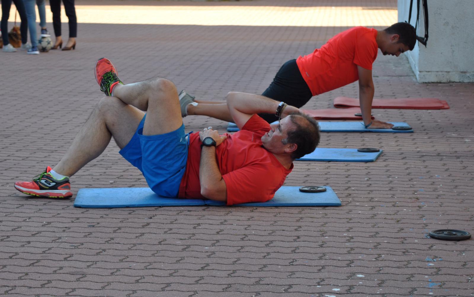 Sergio Sánchez, usuario del Club Fitness: «Me siento más ágil y con más ganas de hacer cosas»