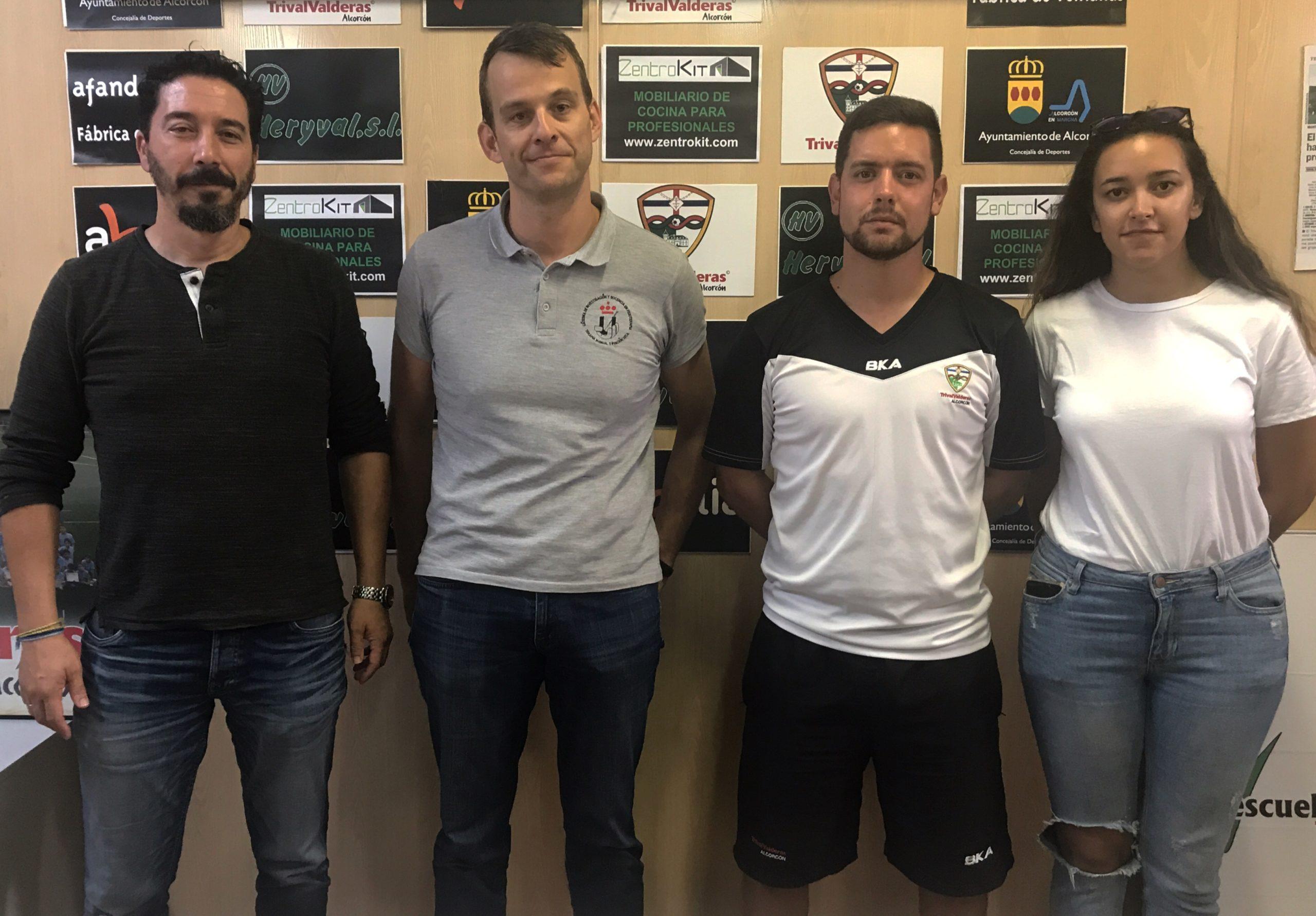 El club firma un acuerdo de colaboración con el Departamento de Salud de la Universidad Rey Juan Carlos