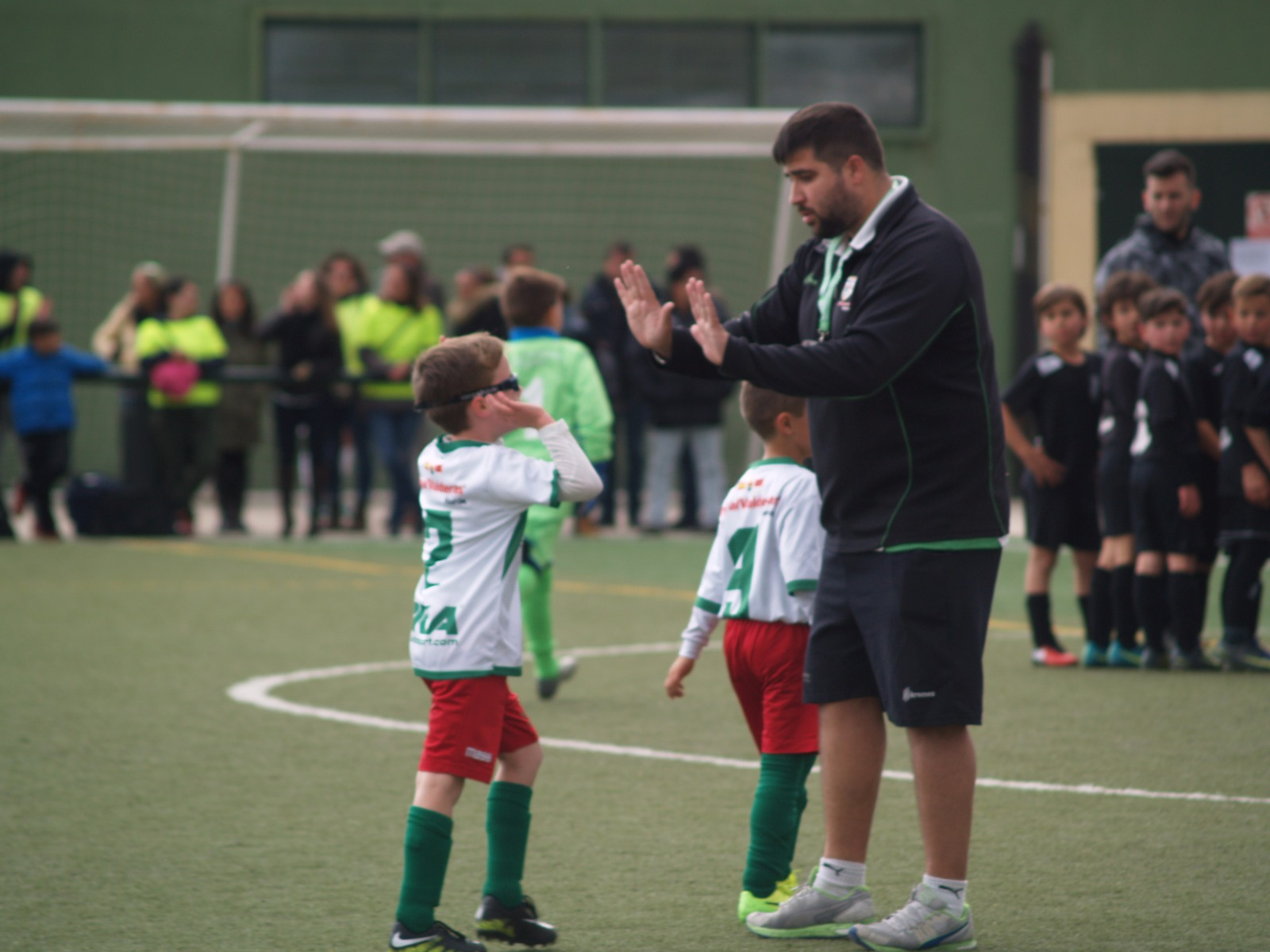 "Christian, entrenador del Infantil 'C': ""El TrivalValderas es una familia"""