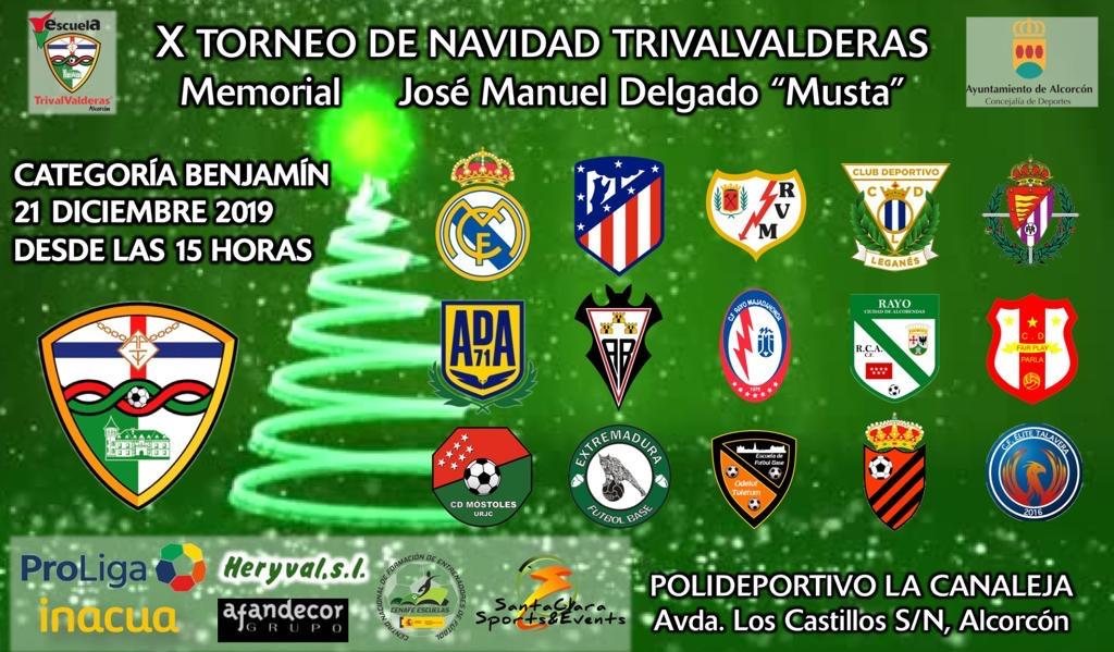 2 días para que arranque el X Torneo de Navidad del TrivalValderas