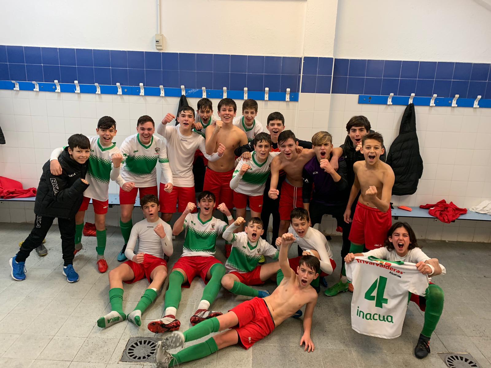 """Infantil A: """"Merecida victoria en un derby vibrante"""""""