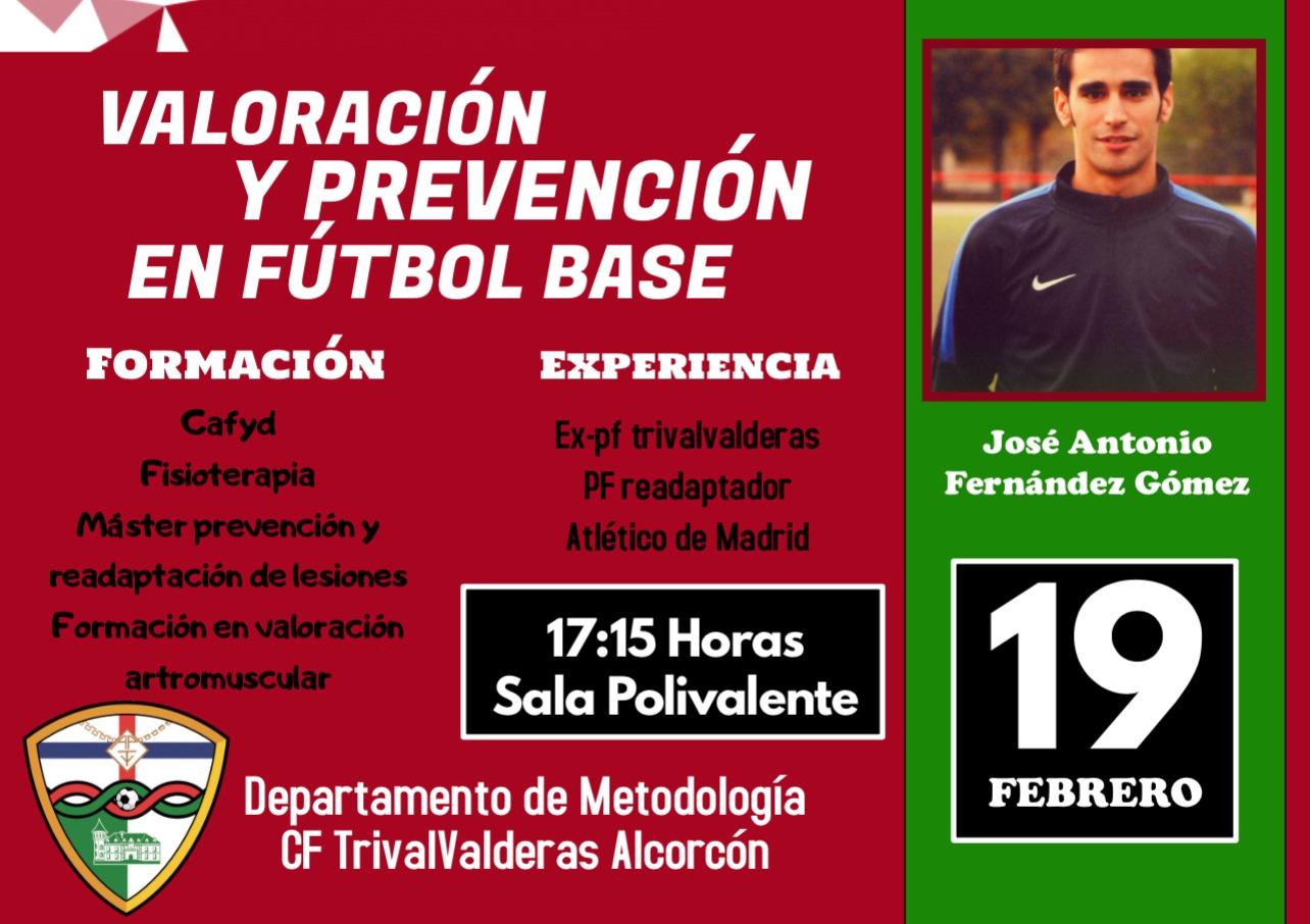 Un preparador del Atlético de Madrid impartirá una sesión formativa para entrenadores del Trival