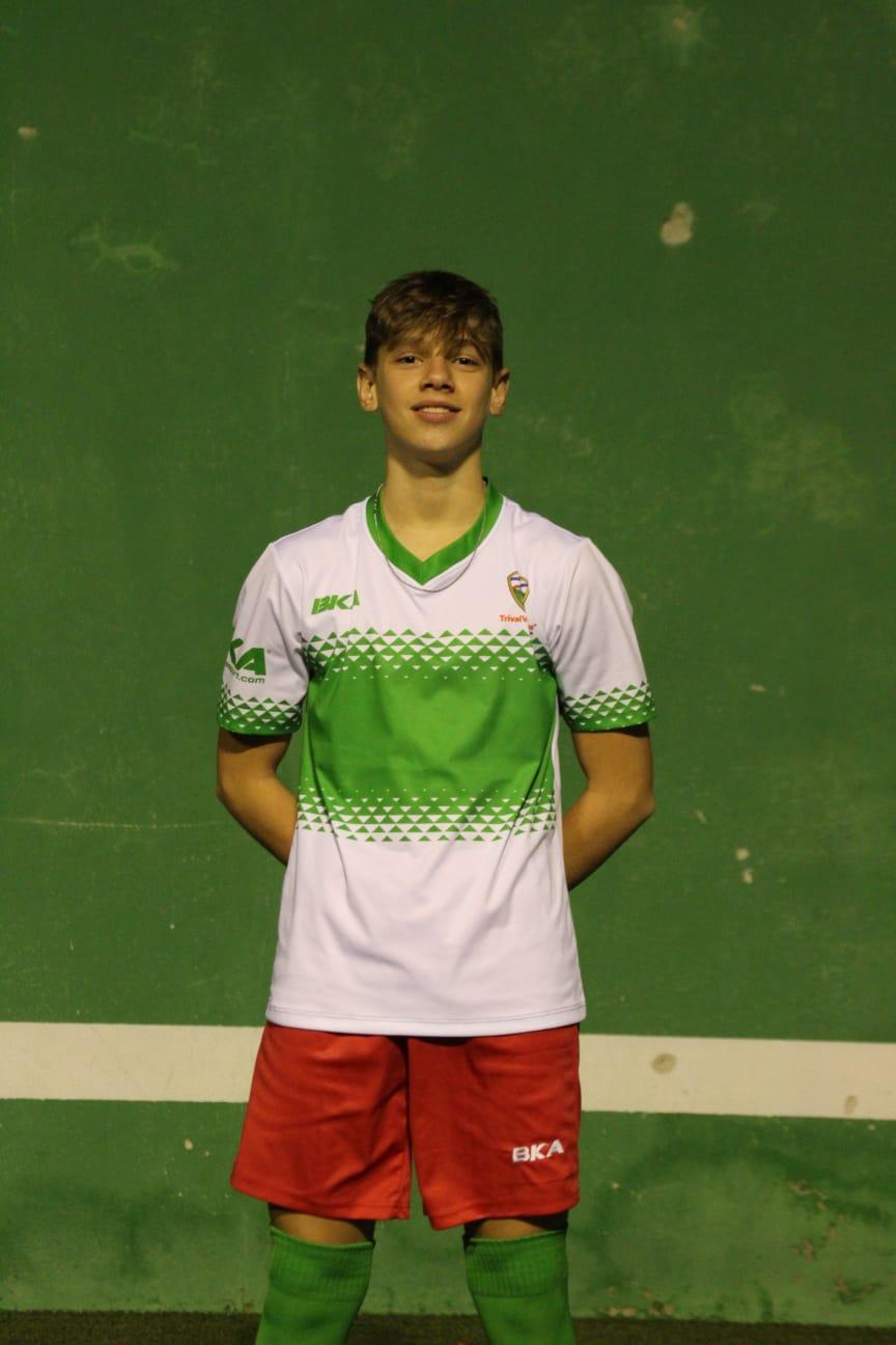 Czujko, jugador del Cadete C: «De pequeño no hacía otra cosa que no fuese jugar al fútbol»