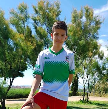 """Manu, jugador del Infantil D: """"Hemos hecho un gran año"""""""
