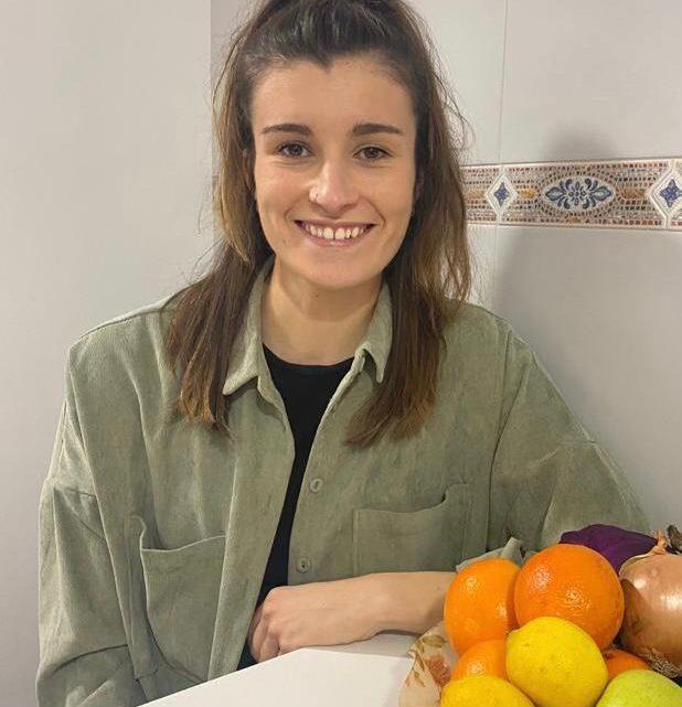 Ainhoa, nutricionista del TrivalValderas: «Espero ofrecer un servicio completo de nutrición para todo el que lo necesite»