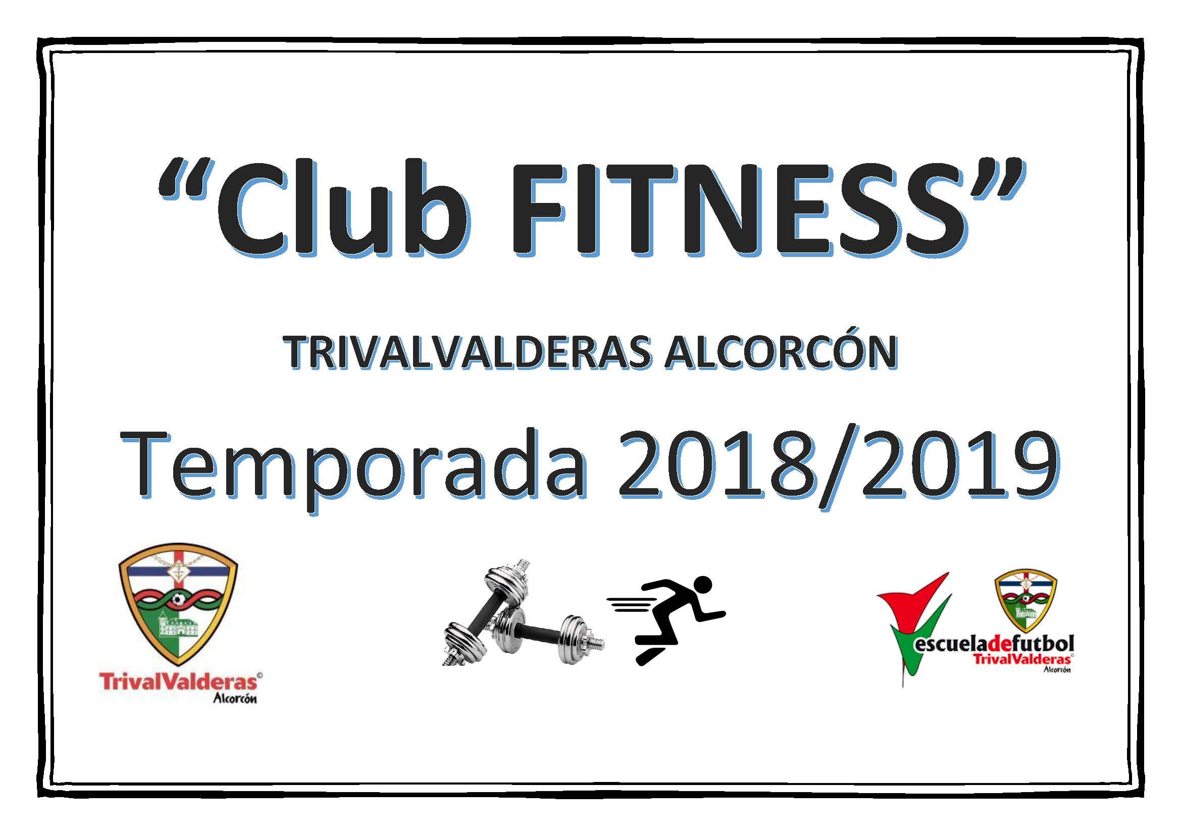 CLUB FITNESS TEMPORADA 2018/2019