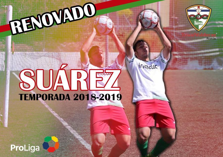 OFICIAL/ Renovación Daniel Suárez Aficionado «B» temporada 2018/2019