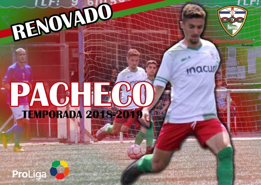 OFICIAL/ Renovación Víctor Pacheco Aficionado «B» temporada 2018/2019