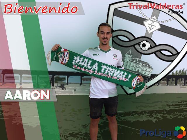 OFICIAL/ Fichaje Aarón Pérez Aficionado «B» temporada 2018/2019