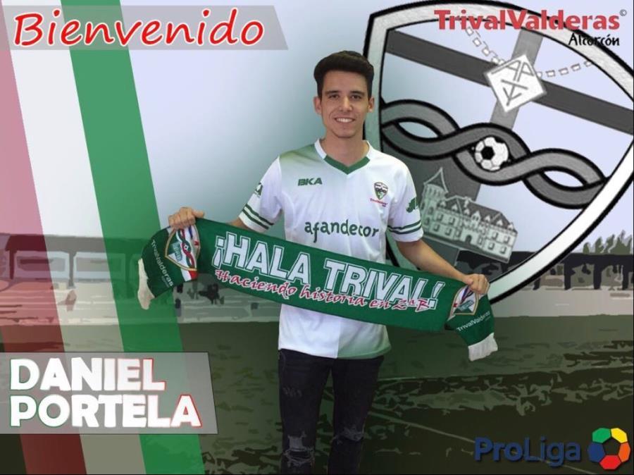 OFICIAL/ Fichaje Daniel Portela Aficionado «B» temporada 2018/2019