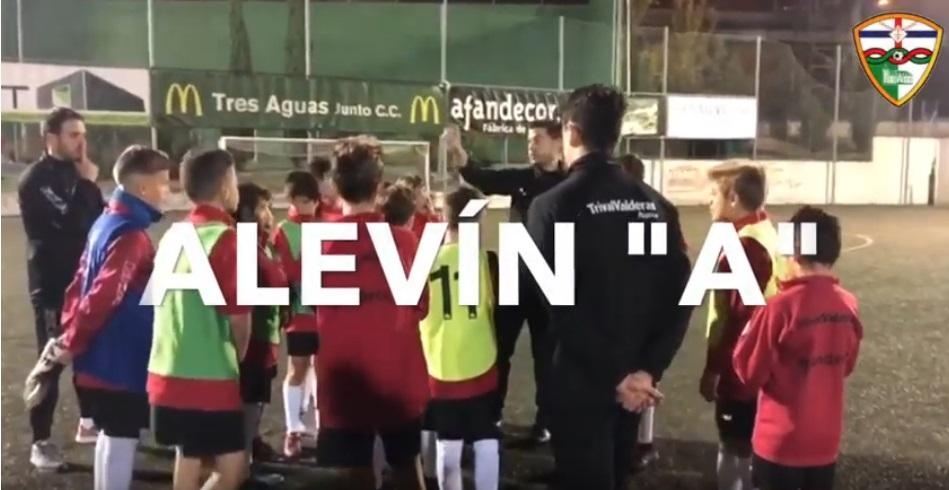 Resumen mensual Alevín «A»/ «¡El equipo esta temporada lo va a dar todo!»