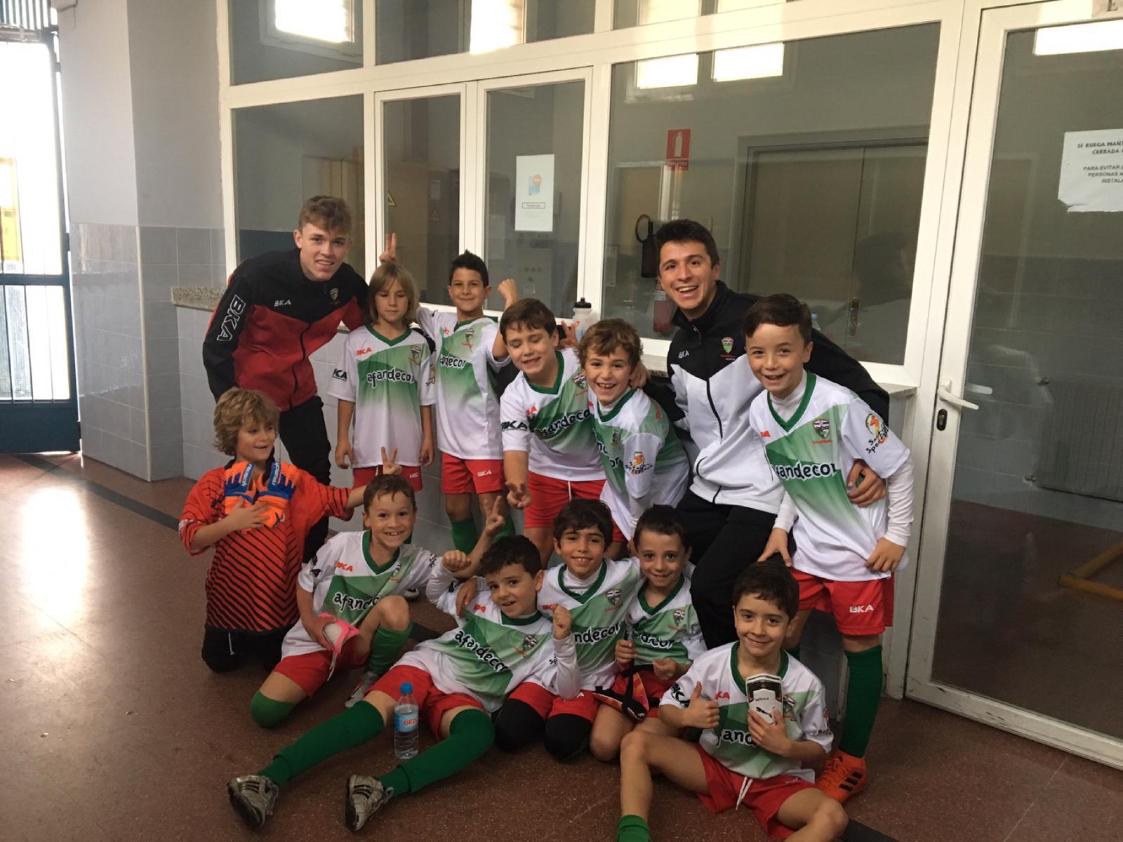 CRÓNICA/ El Prebenjamín «A» se alza con la victoria por 3-1 contra el C.D. Municipal Arroyomolinos «A»