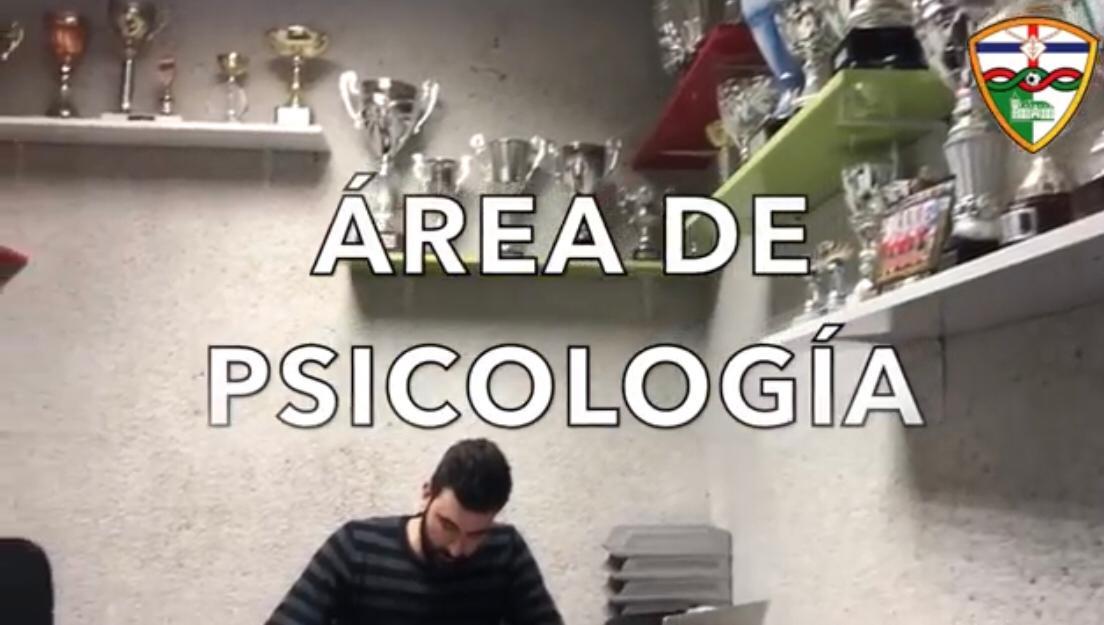DEPARTAMENTO DE SALUD/ ÁREA DE PSICOLOGÍA