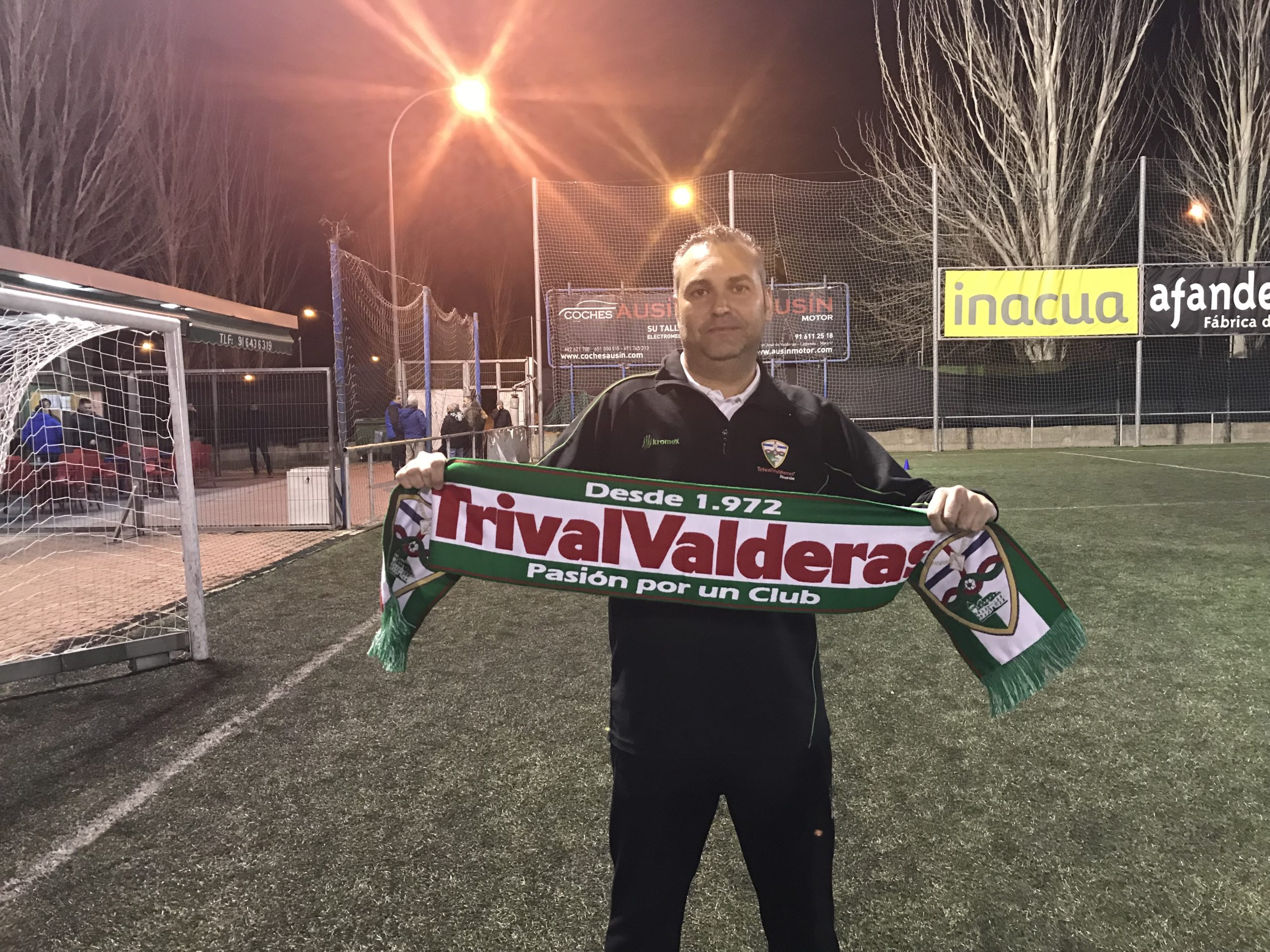 """Félix Baños, nuevo entrenador del Cadete """"B"""": """"Vengo con mucha ilusión y con muchas ganas"""""""