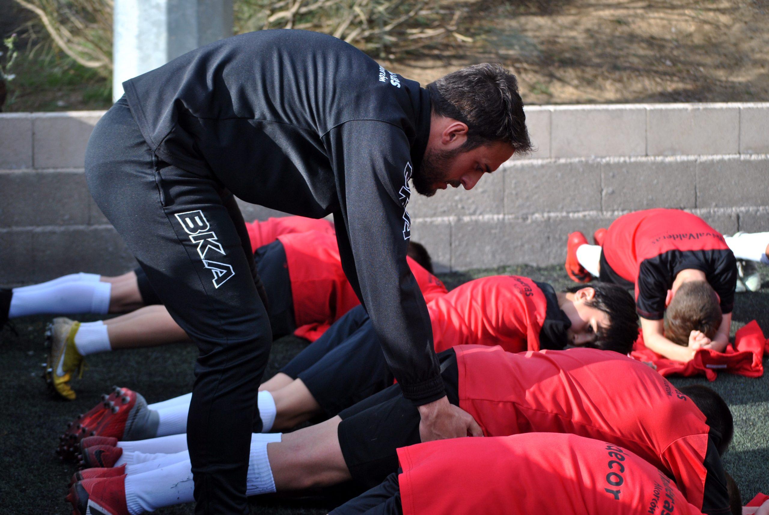 """Daniel Mateo: """"Somos entrenadores de niños y formadores de personas"""""""