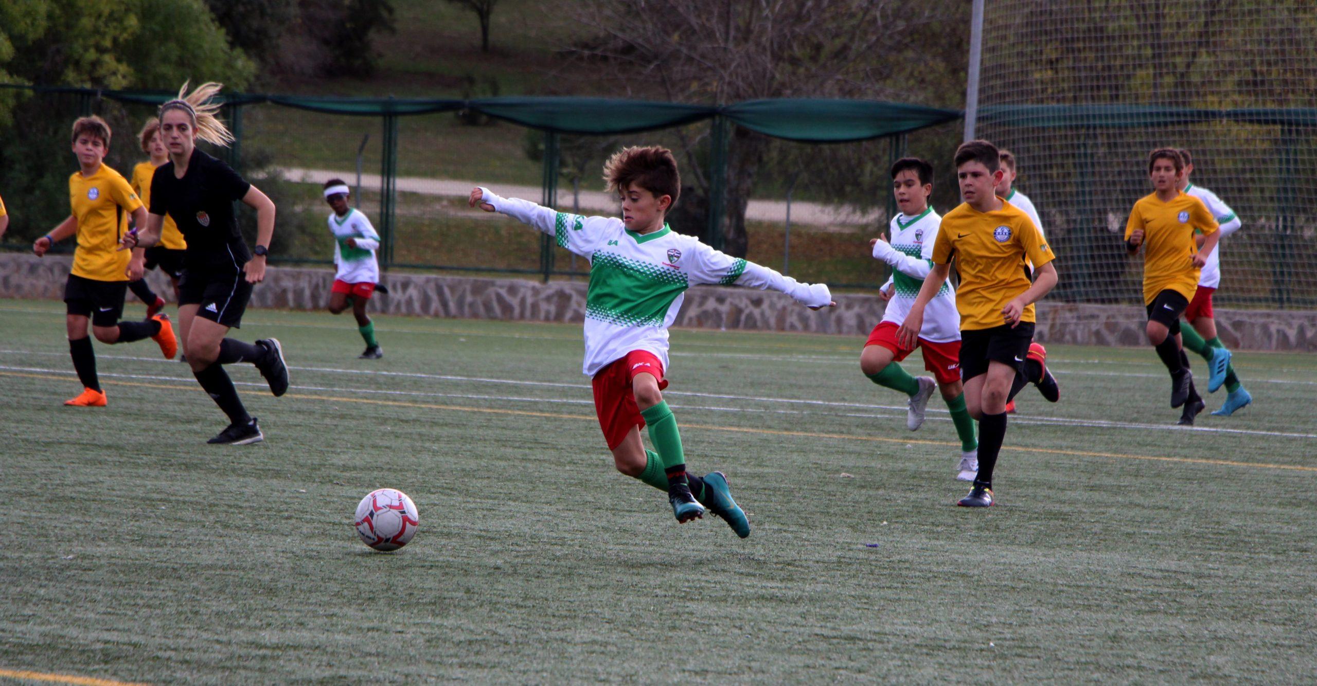El Alevín «A» sale victorioso de su partido contra el Lugo Fuenlabrada