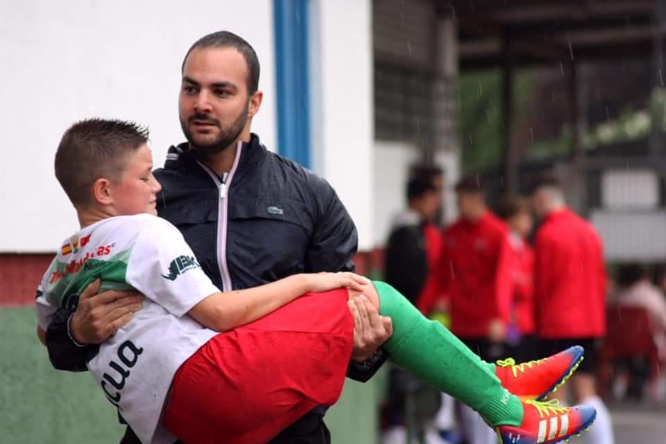 """Víctor, entrenador del TrivalValderas: """"Mi sueño es poder levantarme cada día y que mi trabajo principal sea el fútbol"""""""