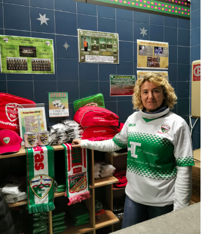 """Sonia, personal del TrivalValderas: """"Me emociona ver cómo los equipos se unen cuando las cosas van mal"""""""