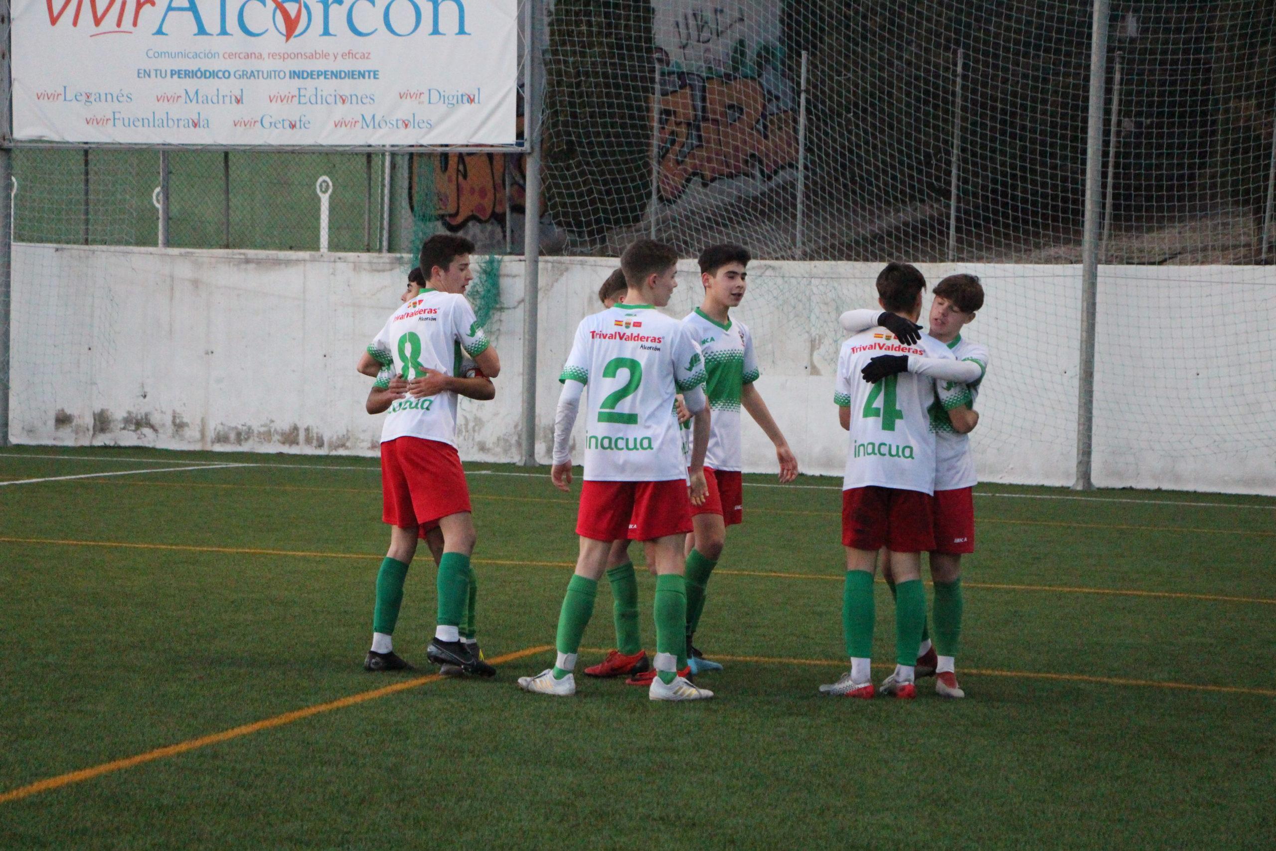 El Cadete «A» gana al Leganés y sigue en puestos de ascenso