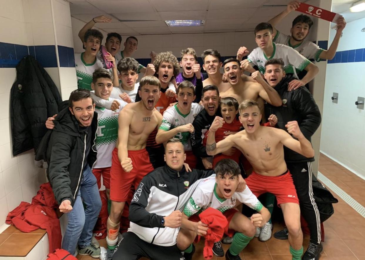 La victoria del Juvenil «C» ante el Sport Vallecas tiene nombre: PIRI