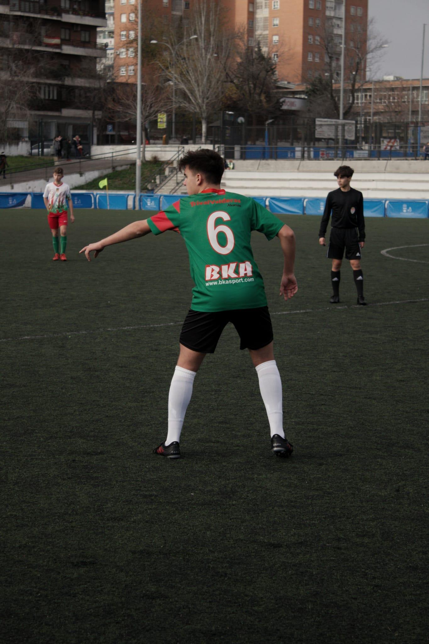 Darío, jugador del Cadete B: «El fútbol es mi pasión»