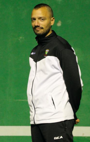 Merchán, entrenador del Infantil 'A': «Mi objetivo es la progresión individual del jugador»
