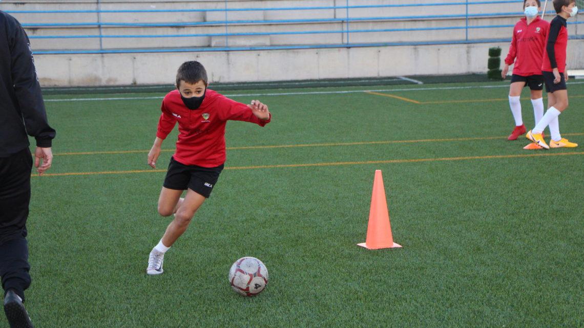 El derbi entre el Alevín «A» y el Alcorcón concluye con un empate
