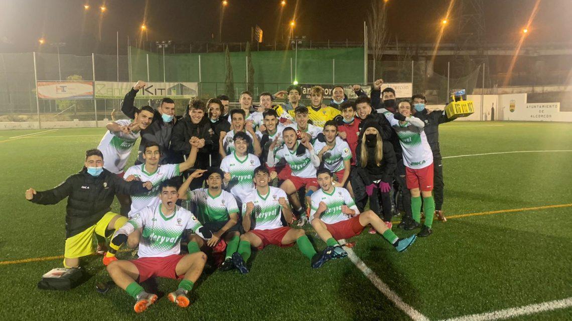 El Juvenil «A» vence al Leganés