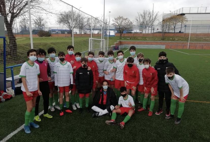 El Infantil «B» empata contra el EF Estudiantes Alcorcón